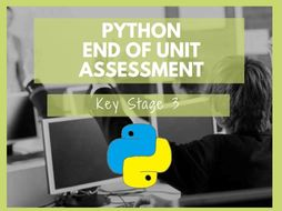 Python programming KS3 assessment