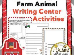 Farm Animal Writing Center