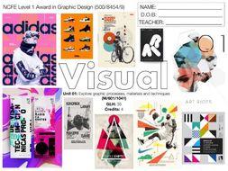 NCFE L1 Graphic Design UNIT 01 SCHEME OF WORK NEW