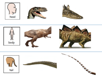 design a dinosaur