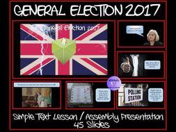 UK General Election 2017 - SIMPLE TEXT Presentation