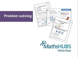 Reasoning - Problem Solving - Number (KS1) and weight problems (KS2) - March 24th