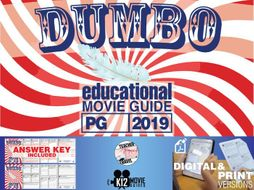 Dumbo Movie Guide | Questions | Worksheet (PG - 2019)