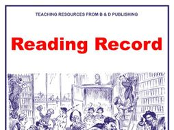 Reading Record Scheme of Work for Library Lessons Sample Pages