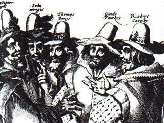 Card Sort: Chronology of the Gunpowder Plot, 1605