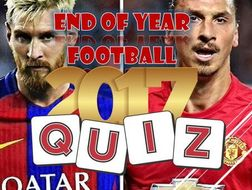 Christmas 2017 Football Quiz By Colled Teaching Resources Tes