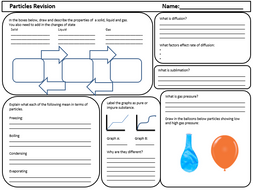particles revision worksheet for year 7 by anneliese6441 teaching resources. Black Bedroom Furniture Sets. Home Design Ideas