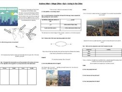 Andrew Marr - Mega Cities - Ep1 - Living in the Cities - Worksheet to support the BBC documentary
