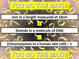 Maths in GCSE Science REVISION (OCR Gateway A)