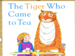 Sequencing PPT for A Tiger came to Tea