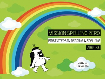 20. Phonics And Spelling Practice: Zoggy In The Lion Pen