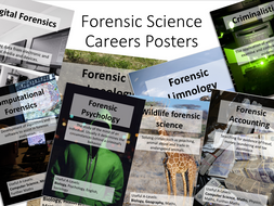 Forensic Science Careers Poster