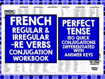 FRENCH VERBS: FRENCH -RE VERBS PERFECT TENSE