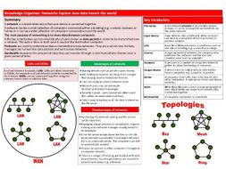 Networks KS3 Computer Science Knowledge Organiser by ...