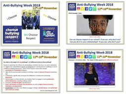 Anti-bullying Week Assembly 2018: 'We Choose Respect'