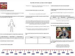 BBC - Armada: 12 Days to Save England - Episode 3 - Worksheet to support the BBC Documentary