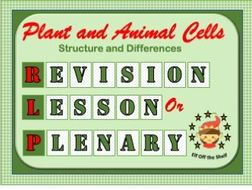 Plant and Animal Cells KS3 - Fully Resourced Revision ...
