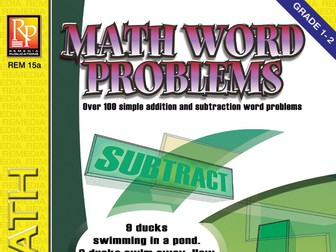 Math Word Problems (Grades 1-2)