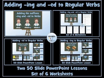 Verbs: Adding -ing and -ed to Regular Root Verbs