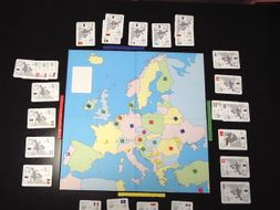 Europe 2019:   Geography Card Games