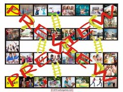 Friendship Activities Chutes and Ladders Board Game