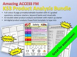 ACCESS FM Product Analysis Bundle