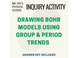 Drawing Bohr Models Using Periodic Trends Practice By