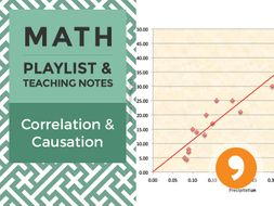 Correlation and Causation – Playlist and Teaching Notes