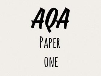 AQA Paper 1 Starters Q3 Q4