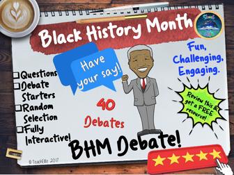 Black History Month Debate