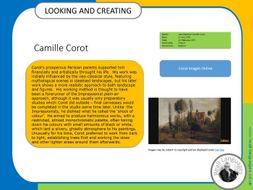 Camille Corot.  Looking and Creating: activities inspired by artists