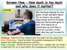 Online Safety - Screen Time