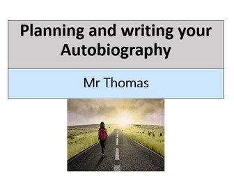 Autobiography lesson for year 8