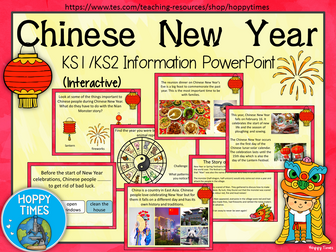 Chinese New Year 2018 lesson/ assembly
