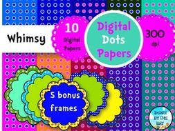 Digital Whimsy Dots #4