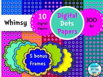 Digital Whimsy Dots #4