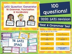 Y6 SATS: SPAG Revision