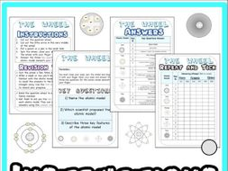 History of the Atom Revision Game