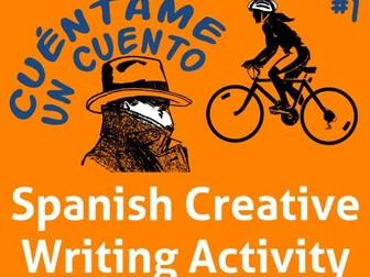 Spanish Creative Writing Activities * Escribir en español * Verbos Irregulares en YO