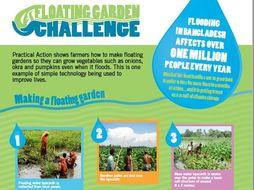 Floating Garden Challenge - STEM challenge