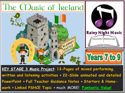 IRISH MUSIC Project 3 Hours of Content