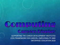 Computing Careers Display