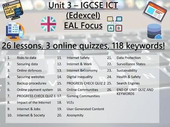 7.ICT > IGCSE > Edexcel > Unit 3 > Operating Online > Unit Check Point Quiz 1