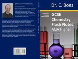 AQA GCSE Chemistry Condensed Revision Notes (Flashcards) Higher Tier (9-1)