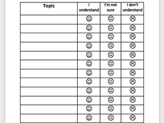 Topic Understanding Table
