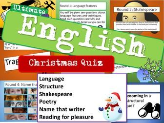 English Christmas Quiz