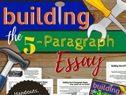 Building the 5-Paragraph Essay (Upper Elem/Middle School)