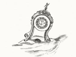 Symbolics & Imaginations, explained as an example in the tale 'The Little Porcelain Clock'
