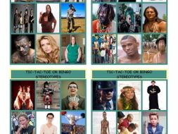 Stereotypes Tic-Tac-Toe or Bingo