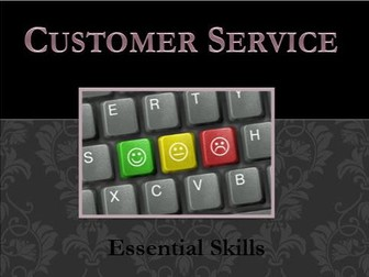 Customer Service Skills  - Powerpoint Presentation - Comprehensive Lesson